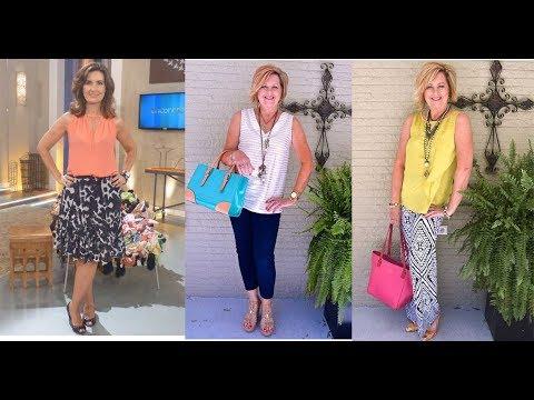 Blusas Para Señoras 50 Y 60 Años Modernas 2019