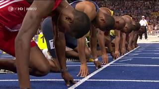 Усейн Болт 100м мировой рекорд 9:58