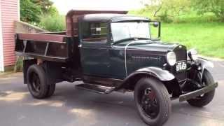 KP Restoration and Repair 1930 Model AA Dump Truck
