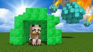 DIAMANT METEOR VS. EMERALD HAUS ✿ Minecraft [Deutsch/HD]
