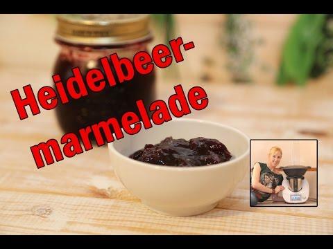 Heidelbeer Marmelade Mit Dem Thermomix Youtube