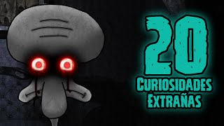 TOP 20: 20 Curiosidades Extrañas De El Suicidio De Calamardo (Squidward