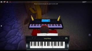 Pompeii - Bad Blood by: Bastille on a ROBLOX piano.