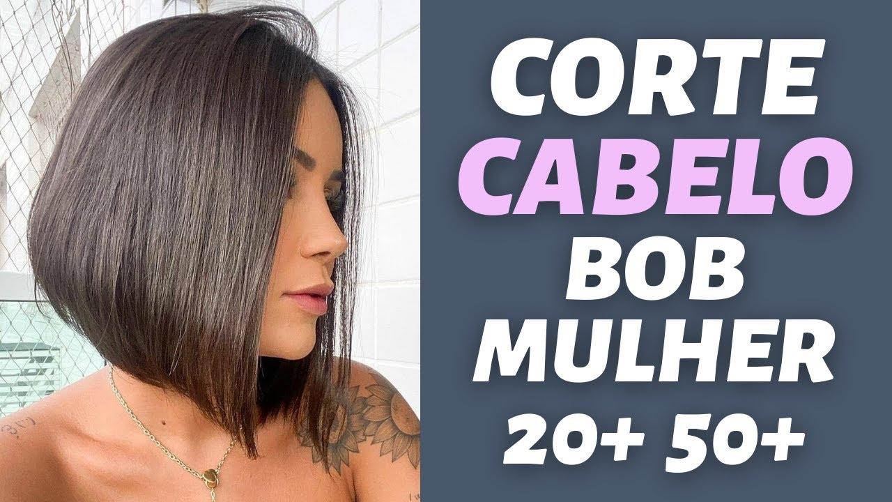 MELHOR CORTE DE CABELO FEMININO / CORTE CABELO BOB PARA MULHER MODERNA DICAS CABELOS/MODA MODA