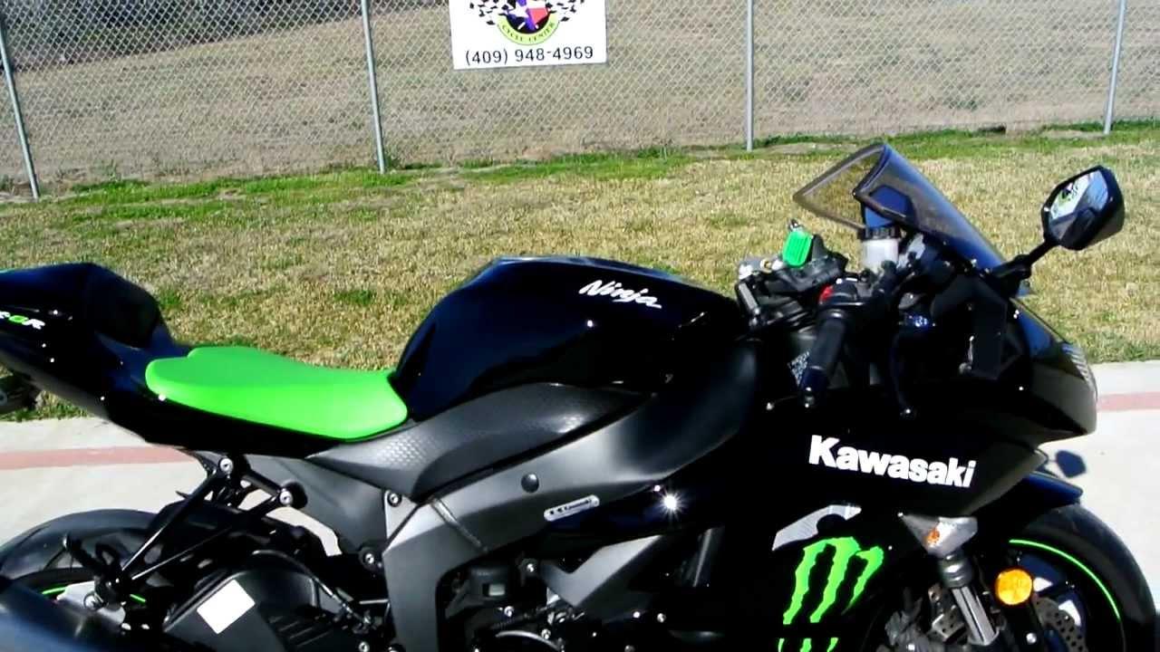 2009 Kawasaki Ninja ZX6R Monster Energy Special Edition 600 Supersport