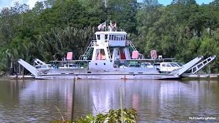 The trip at Kuala Lawas Ferry Service, Sungai Merapok, Sarawak
