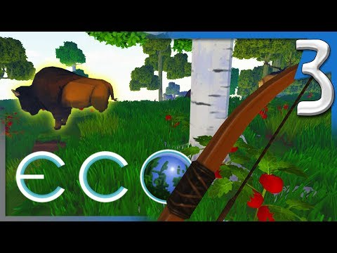 ECO ALPHA 6.1 | TIME FOR THE HUNT! | ECO Multiplayer Gameplay E3