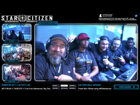 Star Citizen: Live from the Gamescom Showfloor, Day 1