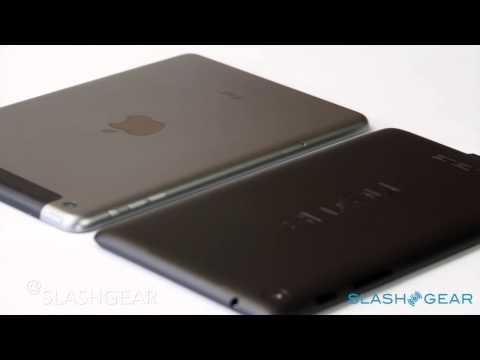 iPad mini with Retina vs Nexus 7