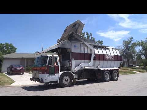 Burrtec Waste Industries - Volvo WXLL - FF Gomez Front Loader (Manual Trash)