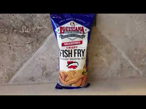 Fried Fish:  Flounder & Louisiana Fish Fry Products