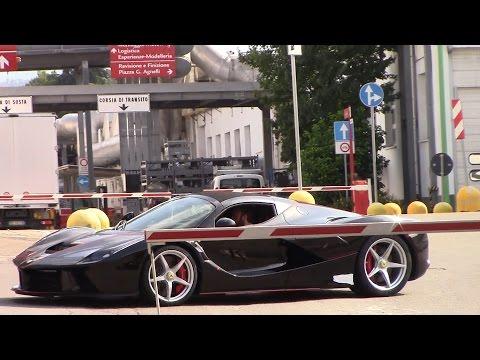 Ferrari LaFerrari Aperta SOUND and Driving!