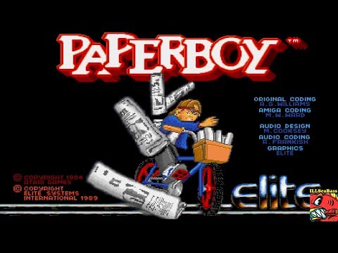 [Long Play] Paperboy [Easy Street] AMIGA - 37,550 🗞