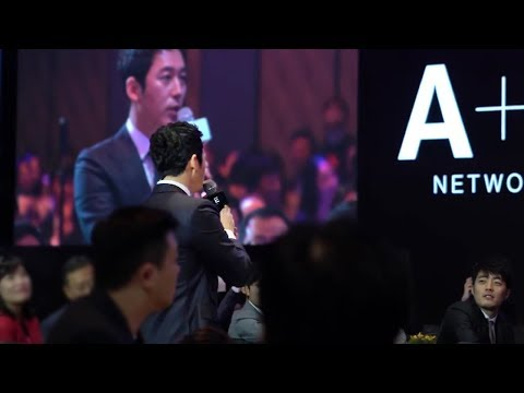Jang Hyuk 장혁 ,김유정,데니안 A&E Networks Launching Party