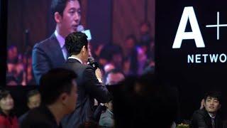 Jang Hyuk 장혁 ,김유정,데니안 A&E Networks Launching Party