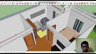 Menata Ruang Rumah 5x9 Meter