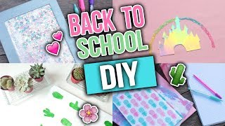 BACK TO SCHOOL DIY DO SZKOŁY