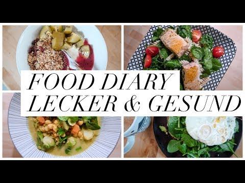 FOOD DIARY. SCHLANK UND FIT OHNE HUNGER. SCHNELLE & EINFACHE REZEPTE ZUM ABNEHMEN