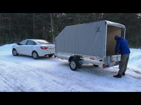 Прицеп для легкового автомобиля Экспедиция Универсал