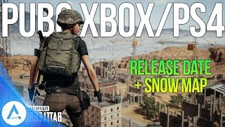 PUBG Xbox/PS4 Update: Ps4 Release Date, Vikendi Snow Map Announced, Pre Orders, Exclusive PS4 Skins