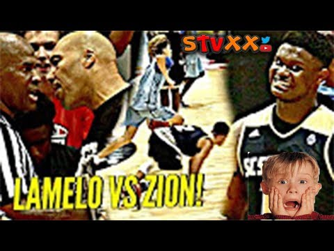 LaMelo Ball vs Zion Williamson WAS INSANE! Lonzo Ball, Dame Lillard, OSN & INSANE CROWD Reaction