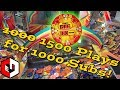 1500 PLAYS ARCADE CHALLENGE! Big JACKPOT Wins at The Wizard of Oz Coin Pusher!