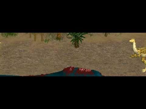 Dinosaur Safari (Late Jurassic) Clip #11: Coelurus