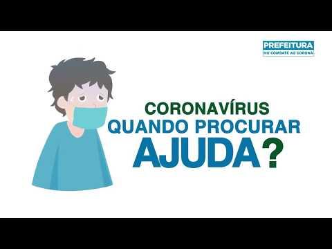 CORONAVÍRUS | Quando procurar ajuda?