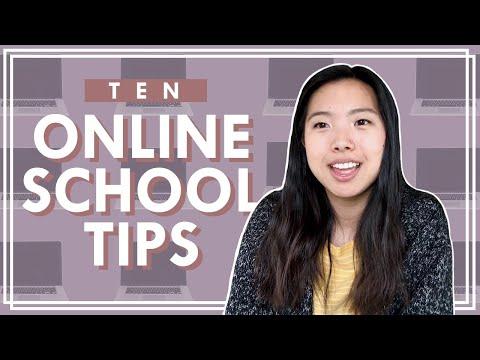 My Top 10 Online School Tips For Students