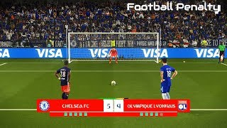 CHELSEA vs LYON | Penalty Shootout | PES 2018 Gameplay PC
