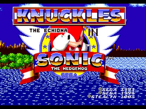 Knuckles The Echidna In Sonic The Hedgehog Walkthrough Youtube