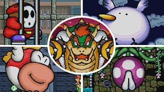 Yoshi ' s Island DS - Alle Bosse