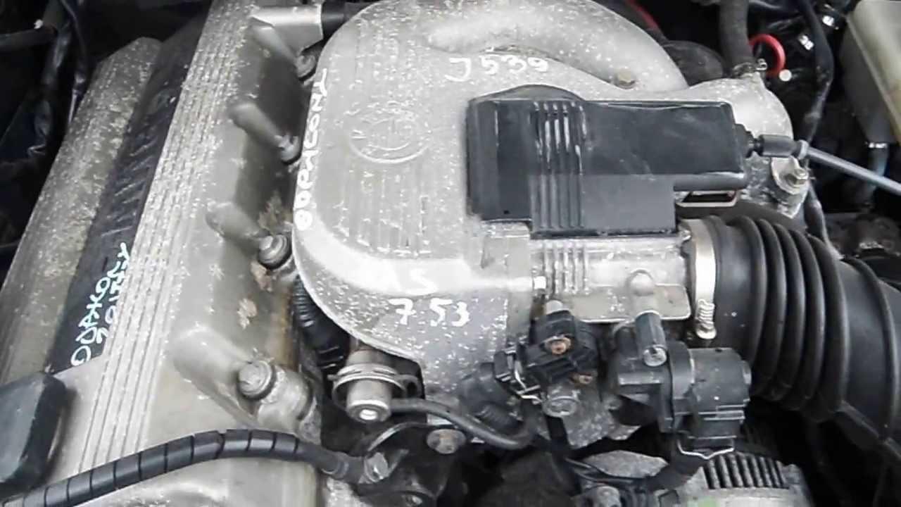 Silnik BMW E 36 M40B18 318i 1.8 225 000km - YouTube