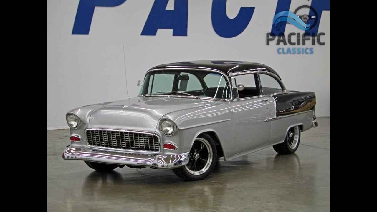 All Chevy chevy 2 door : 1955 Chevrolet 2 door post - YouTube