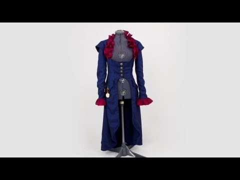 Simplicity Pattern 2172 - Steampunk Coat