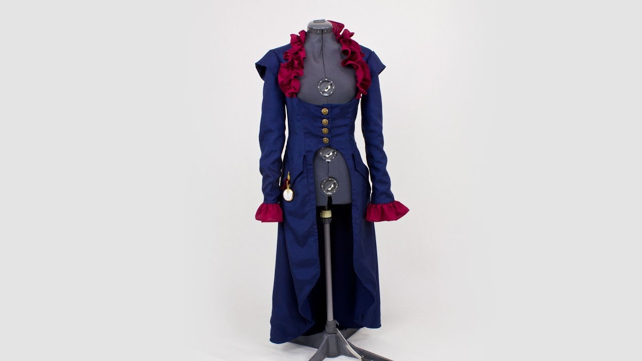 Simplicity Pattern 2172 - Steampunk Coat - YouTube