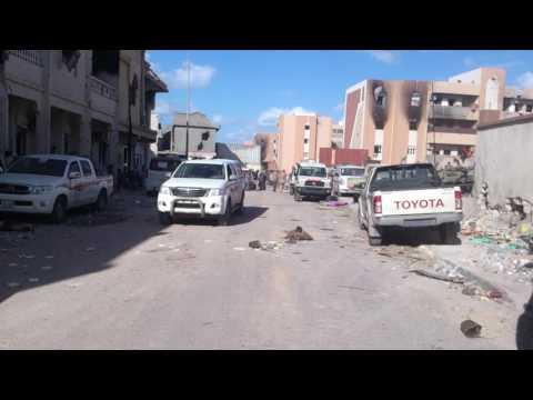 War isis in Libya