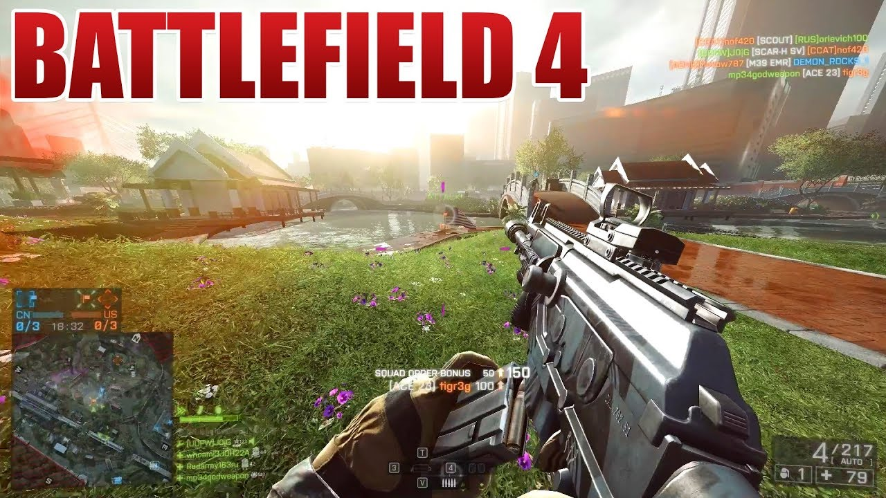 keine ahnung, battlefield 4 macht einfach spaß
