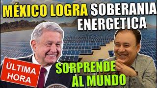 ¡¡ÚLTIMA HORA!! AMLO Construye El Parque Solar MÁS GRANDE DEL MUNDO ¡MÉXICO SE POSICIONA #1 GLOBAL!