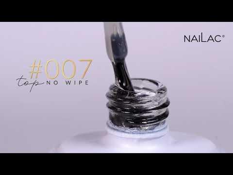 Video: #007 Hybrid top coat - No Wipe NaiLac 7ml