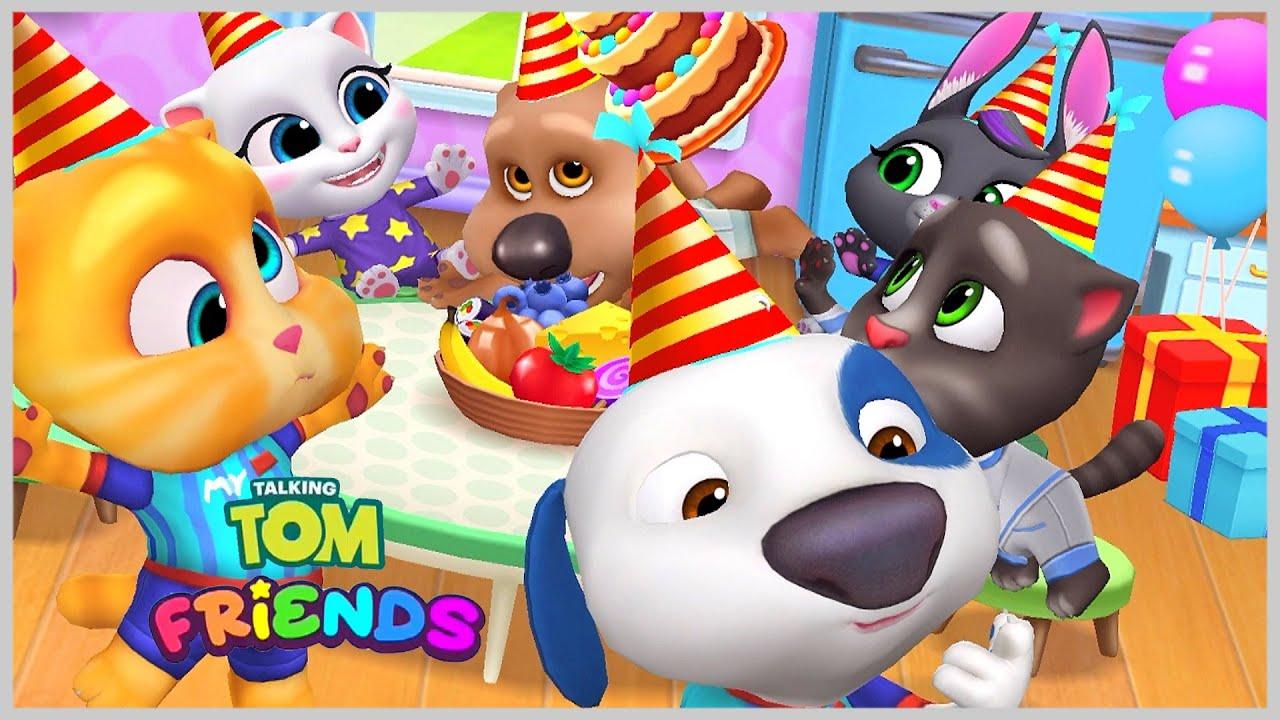 Том и друзья Празднование дня рождения Хэнка и Джинджер Мультигра