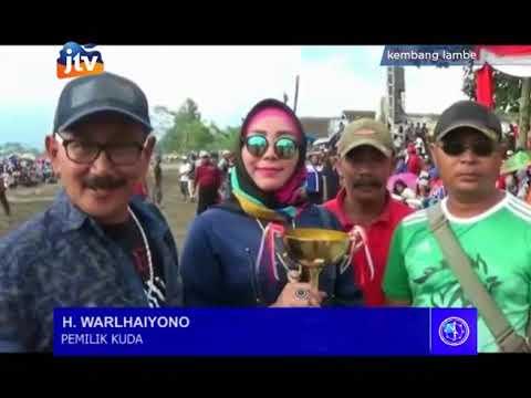 Inilah Kejuaraan Pacuan Kuda Jatim Derby 2018 di  Kikis Tunggorono Kab. Blitar