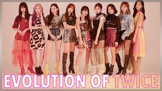 The Evolution of TWICE (트와이스) Discography from 2015-2019