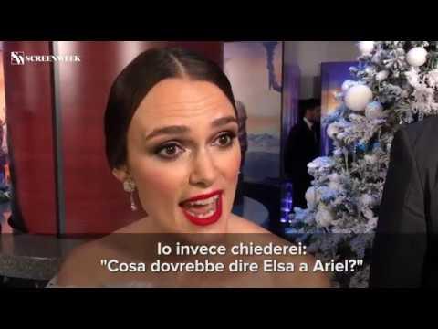 Lo Schiaccianoci - Le interviste alle attrici sul RED CARPET!