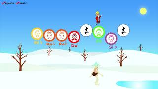 El Invierno - Winter - Boomwhackers Play Along - Musicograma - The Four Seasons - Antonio Vivaldi