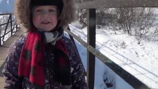 Влог: Макс кормит диких уток - Детское видео про животных - Пермь