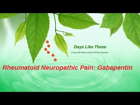 can i use gabapentin for arthritis