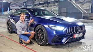 Pushing the Mercedes AMG GT 63S 4-Door on the Race Track!