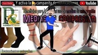 Piernas para de mangas médica compresión