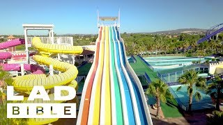How To Become A Waterslide Tester - Brought To You By Pot Noodle